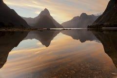 Milford dźwięk, Nowa Zelandia Zdjęcia Royalty Free