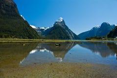 Milford dźwięk, Nowa Zelandia Zdjęcia Stock