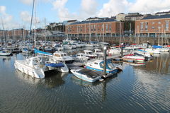 Milford Haven Marina Stock Images