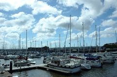 Milford Marina Stock Image