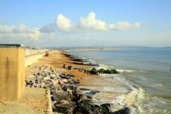 Milford no mar, Dorset Foto de Stock
