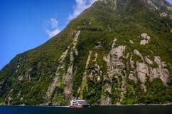 Milford Sound 新西兰 免版税库存图片