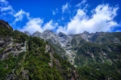 Milford Sound 新西兰 免版税库存照片