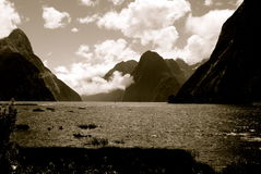 Milford Sound Photo stock