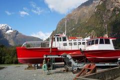 Milford Sound royaltyfria foton
