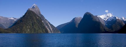 Milford Sound fotos de stock royalty free