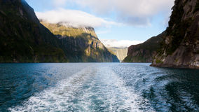 Milford Sound Стоковая Фотография