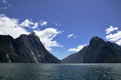 Milford sound Royalty Free Stock Image