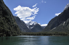 Milford sound Royalty Free Stock Photography