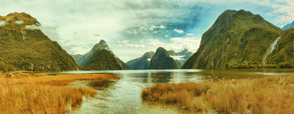 Milford Sound 免版税库存照片