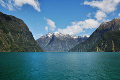 Milford sound. Taken at Milford sound, Fiord land National Park, New Zealand stock photography