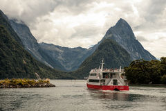 Milford Sound Photographie stock