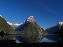 Milford Sound 免版税库存图片
