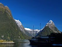 Milford Sound Fotografia de Stock Royalty Free