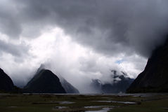 Milford Sound Stockbild