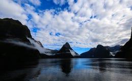 Milford Sound Стоковое Изображение RF