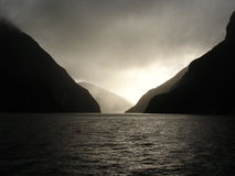 Milford Sound Stockfoto