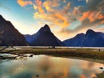 Milford Sound imagem de stock