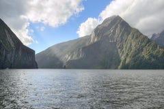 Milford Sound Fotografie Stock