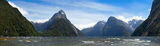 Milford Sound стоковое фото