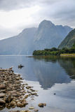 Milford Sound Immagine Stock