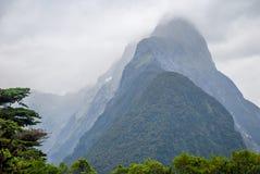 Milford Sound imagem de stock royalty free