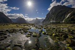 Milford Sound Fotografia Stock Libera da Diritti