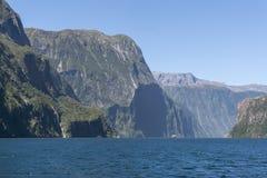 Milford Sound Royaltyfria Bilder