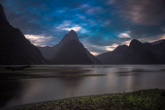 Milford Sound Fotografia Stock