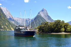 Milford Sound Stockbilder