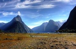 Milford Sound royaltyfri foto