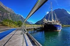 Milford Sound arkivbild