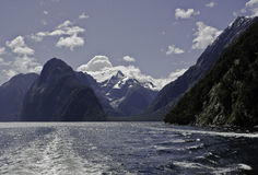 Milford Sound.Beautiful New Zealand. Stock Images