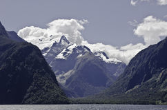 Milford Sound.Beautiful New Zealand.  Royalty Free Stock Image