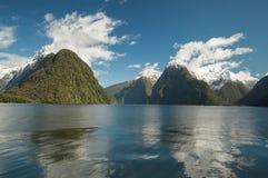 Milford Sound de croisière Image libre de droits