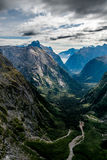 Milford Sound de la silla de montar de Gertrudis Imagenes de archivo