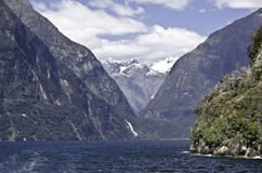 Milford Sound fiord Stock Images