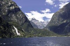 Milford Sound. Fiordland. Beautiful New Zealand. Royalty Free Stock Photography