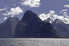 Milford Sound. Fiordland. Beautiful New Zealand. Royalty Free Stock Photos