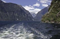 Milford Sound. Fiordland. Beautiful New Zealand. Stock Image