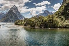 Milford Sound, Fiordland, New Zealand. Stock Photo