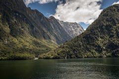 Milford Sound, Fiordland, New Zealand. Royalty Free Stock Photos