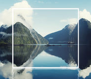 Milford Sound Fiordland New Zealand Concept Royalty Free Stock Image