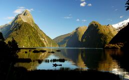 Milford Sound. Fiordland.NZ royalty free stock photography