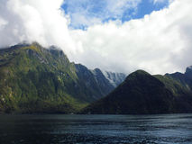 Milford Sound fjords Royalty Free Stock Image