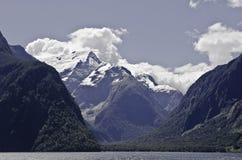 Milford Sound Härliga Nya Zeeland Royaltyfri Bild
