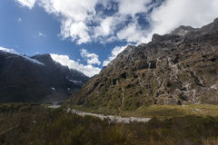 Milford Sound Highway Royalty Free Stock Images