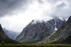 Milford Sound Hwy, Mountains Stock Images
