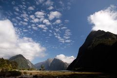 Milford Sound landscape Stock Photography
