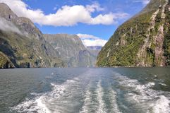 Milford Sound. New Zealand Royalty Free Stock Photography